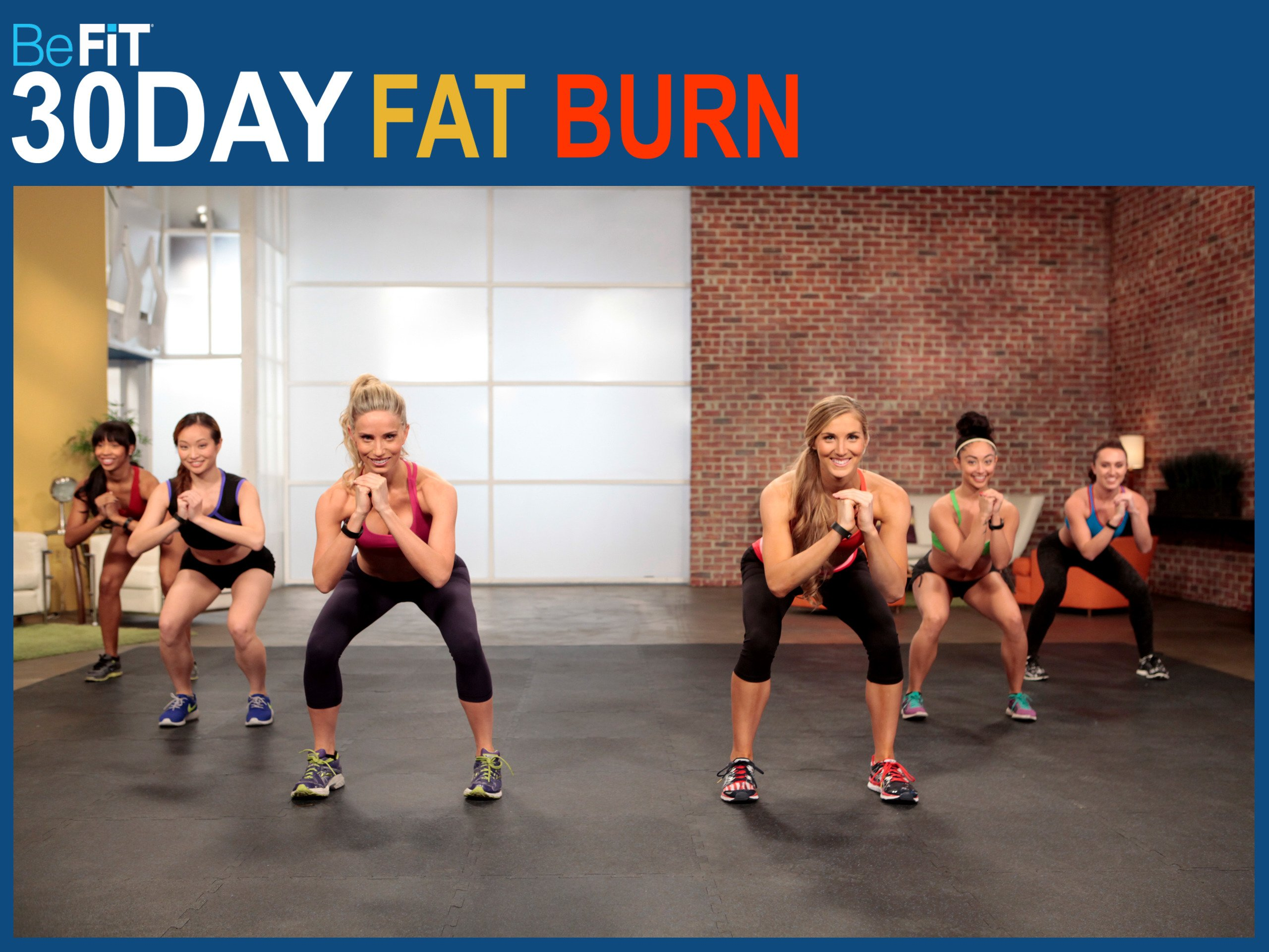 30 day fat burning routine