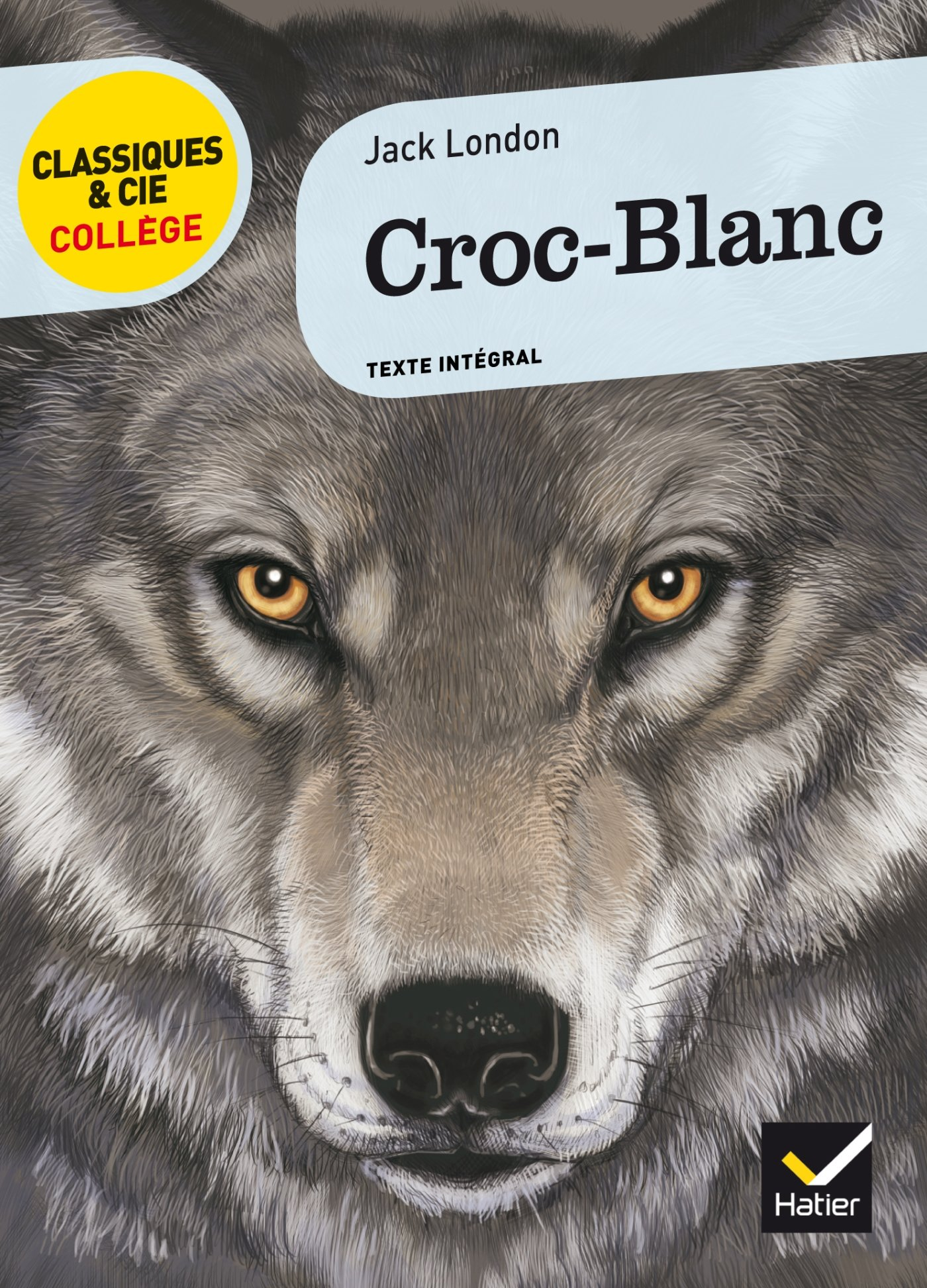 Favori Amazon.fr - Croc-Blanc - Jack London, Éric Sala, Bertrand Louët  MJ51