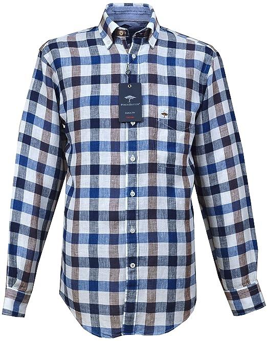 Fynch Hatton Herren Freizeit-Hemd Blau Blau Gr. xxl, Blau - Blau ... 55416b384f