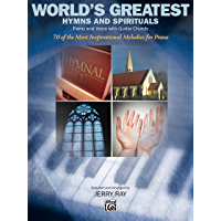 World's Greatest Hymns: Piano Sheet Music Songbook Collection book cover
