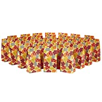 Hallmark Fall Leaves Party Favor and Wrapped Treat Bags (30 Ct.) for Autumn Parties, Halloween, Thanksgiving, Friendsgiving, Care Packages and More