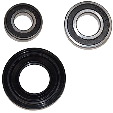 HQRP Bearing and Seal Kit for Whirlpool Duet Sport WFW9050XW03 WFW9150WW00  WFW9150WW01 WFW9150WW02 WFW9151YW00 WFW9250WW00 WFW9050XW00 WFW9050XW02