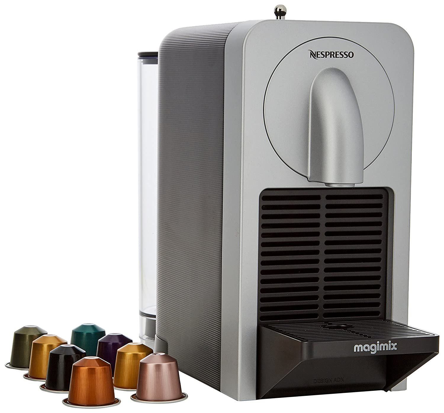 Nespresso Prodigio Coffee Maker, Silver by Magimix 11375