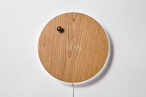 FLYTE Story - Reloj de Pared Digital (Incluye Temporizador, manecillas flotantes y retroiluminación LED