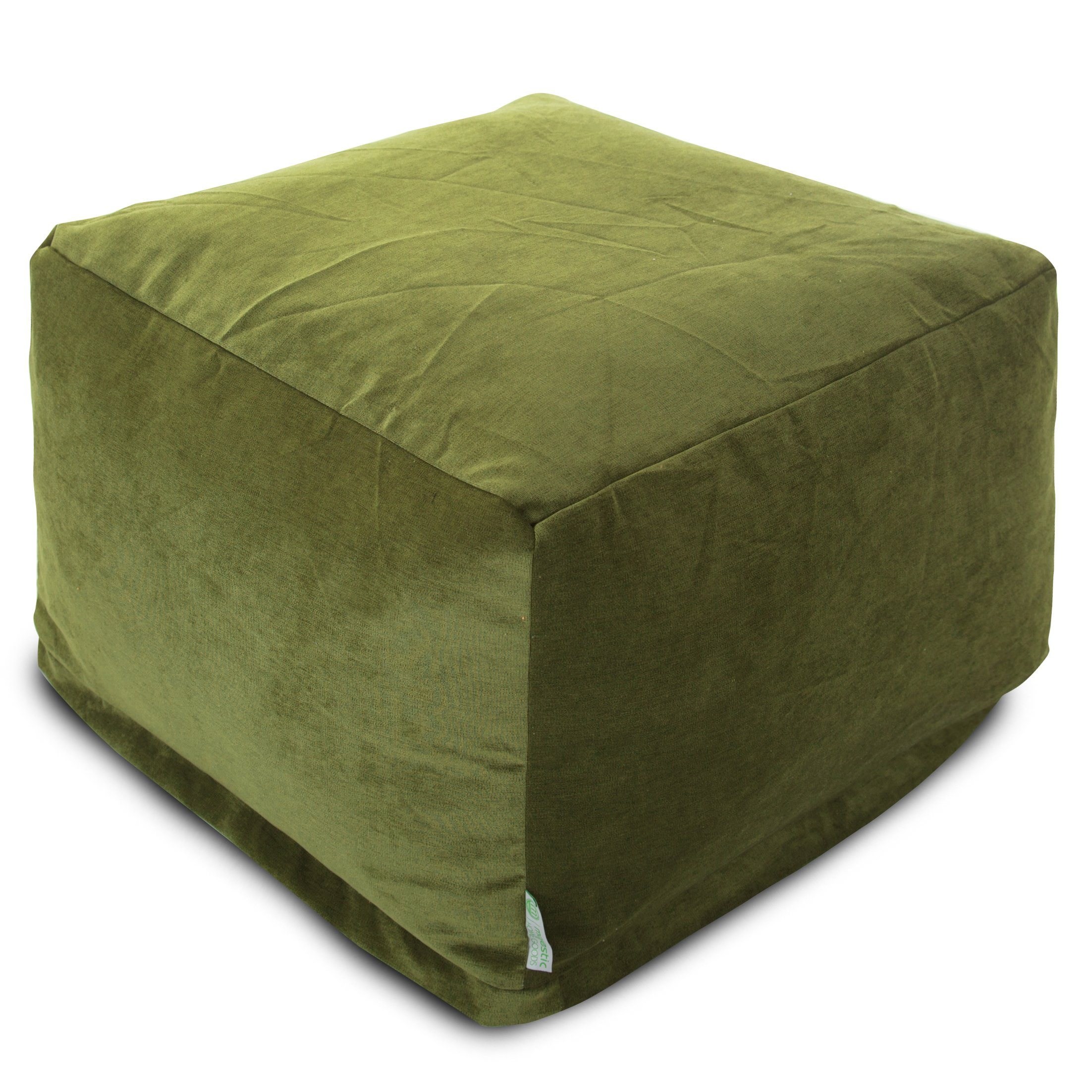 Majestic Home Goods Villa Ottoman, Large, Apple