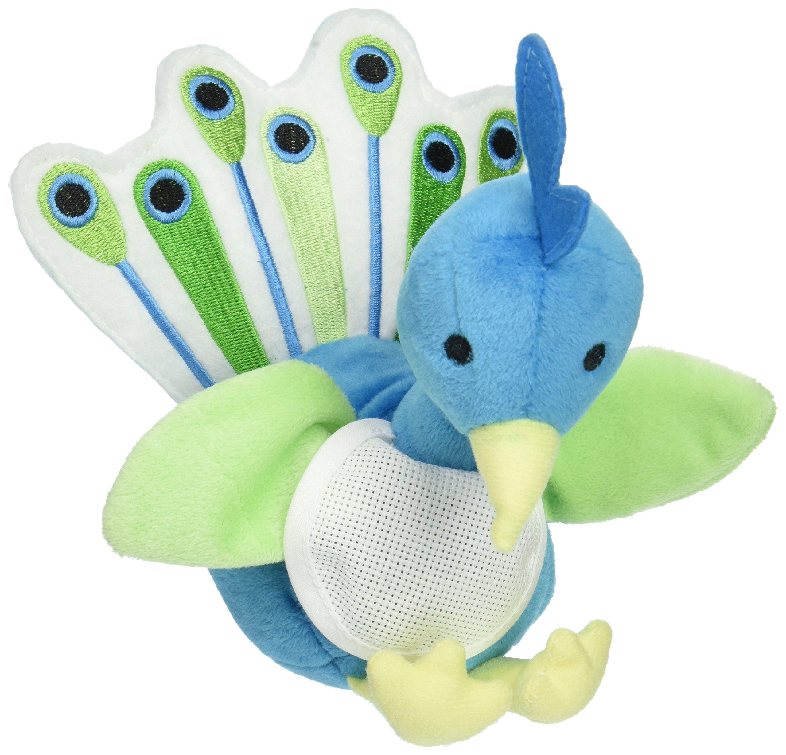 DMC Ready-To-Stitch Stuffed Animals, Petey Peacock