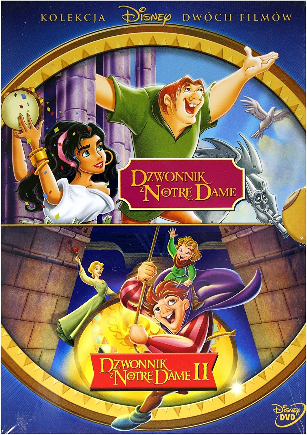 Dzwonnik Z Notre Dame Dzwonnik Z Notre Dame Ii Disney Box 2dvd No English Version Amazon Co Uk Michael Mckean Kevin Kline Mary Kay Bergman Jim Cummings Jennifer Love Hewitt Tom Hulce Jason