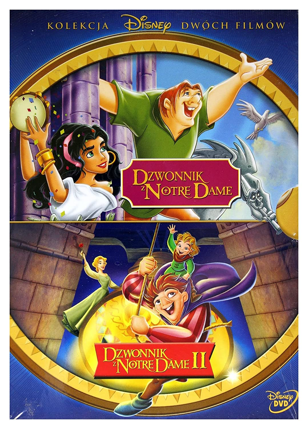 Amazon Com Dzwonnik Z Notre Dame Dzwonnik Z Notre Dame Ii Disney Box 2dvd English Audio English Subtitles Movies Tv