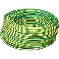 Cofan 51002564V Rollo de Cable, Amarillo y Verde