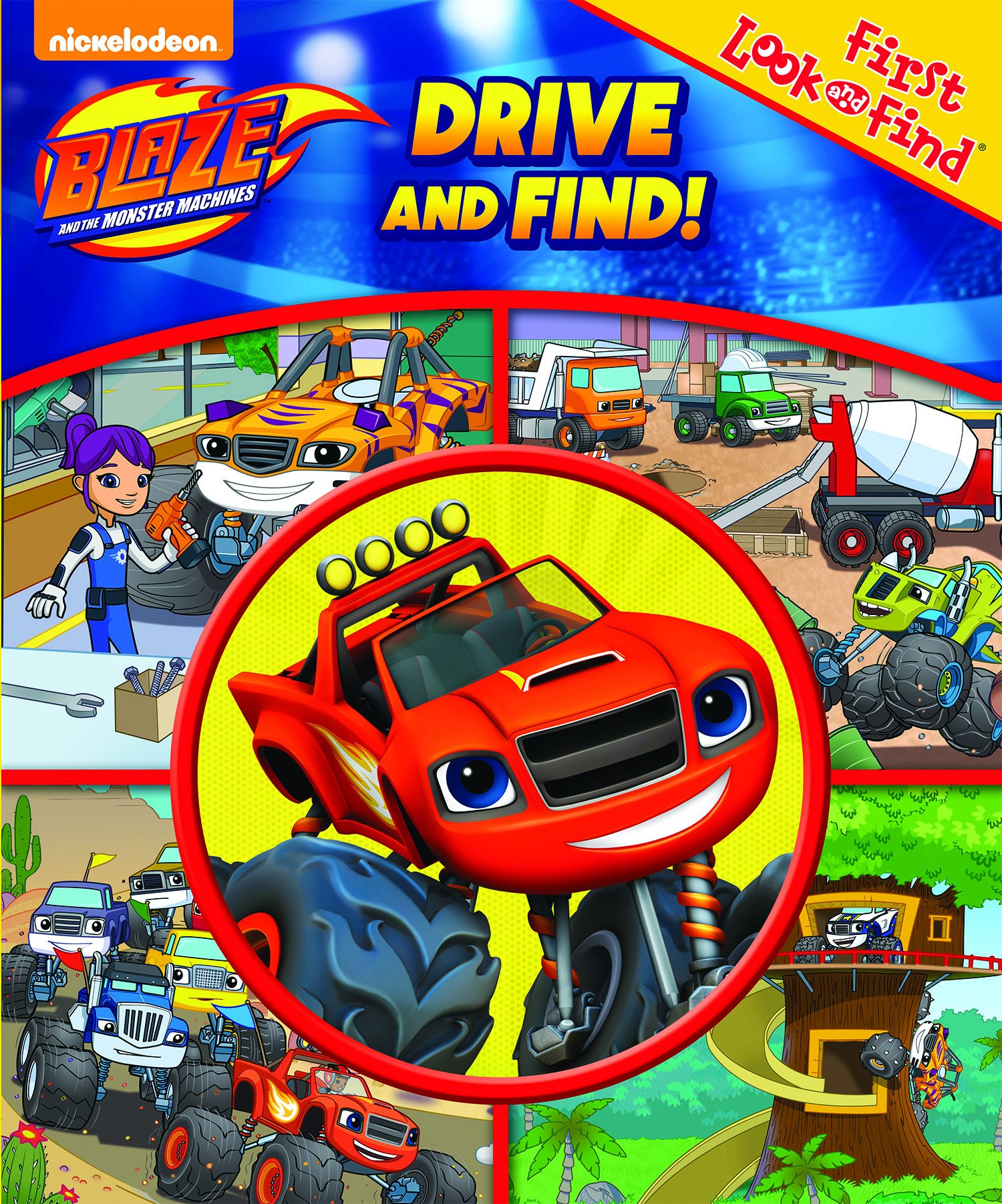 Read Online Blaze and the Monster Machines Drive and Find! My First Look and Find pdf epub
