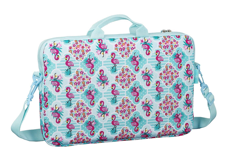 Moos  Flamingo Turquoise Oficial Funda Para Port/átil De Hasta 15,6 340x180x150mm