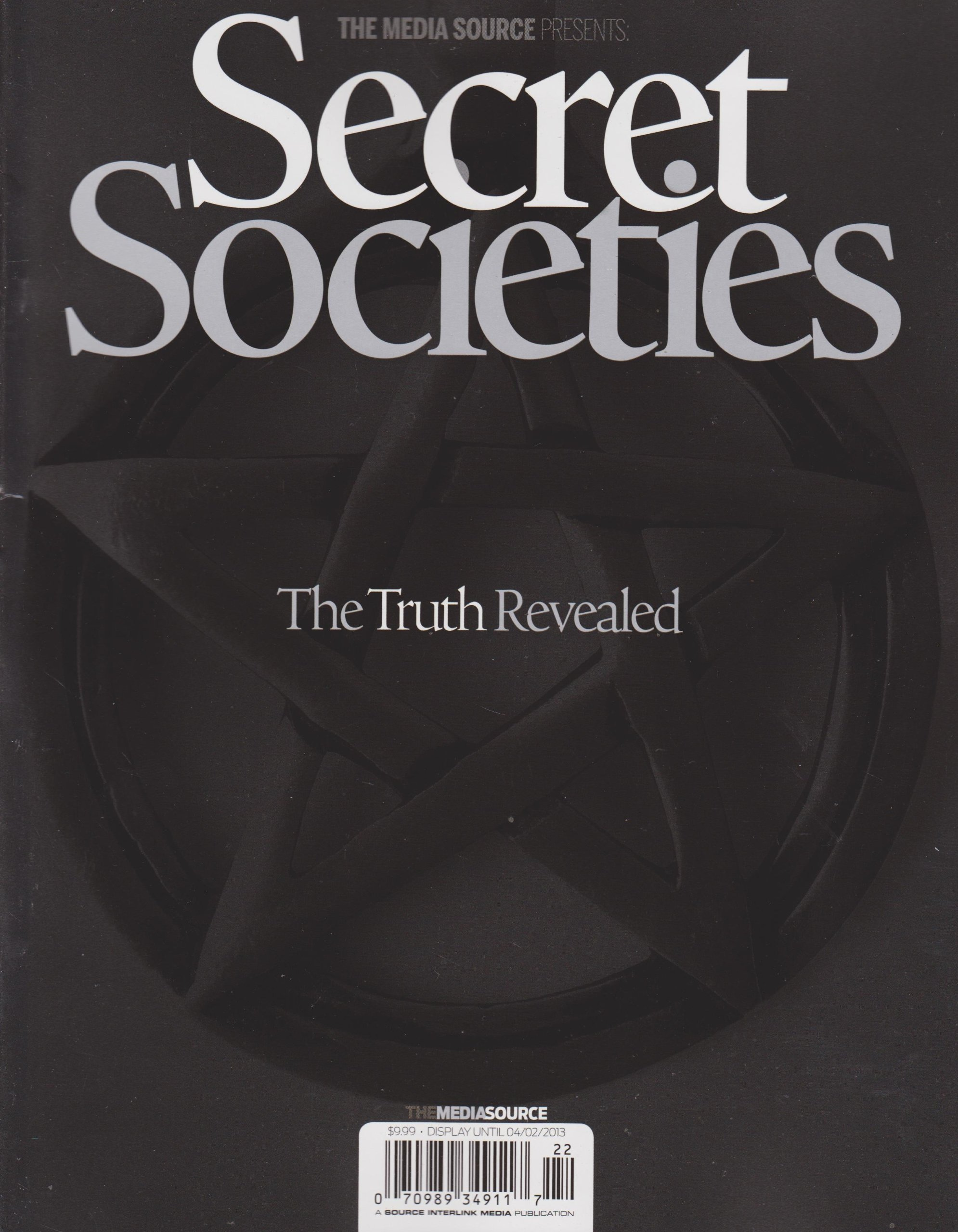 The Media Source Presents Secret Societies Magazine (The Truth Revealed) pdf epub