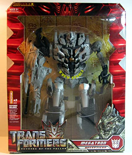 amazon com transformers leader megatron toys games