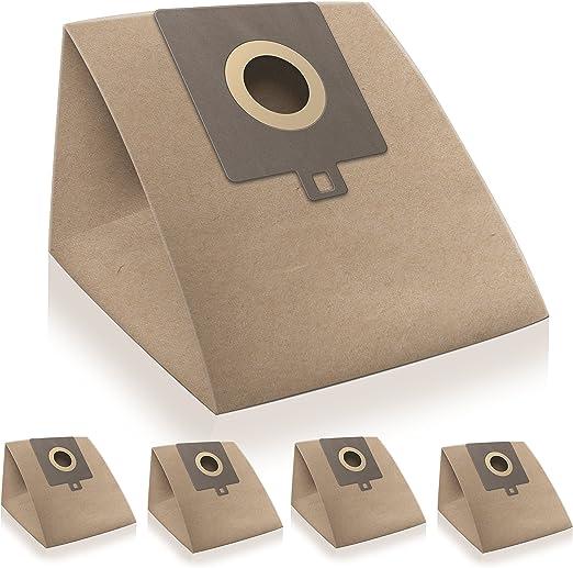 WESSPER® Bolsas de aspiradora para Hoover TFS5206 (5 piezas, papel ...