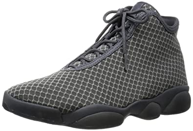 Nike Jordan Mens Jordan Horizon Wolf GreyWhiteDark Grey Basketball Shoe  11 Men