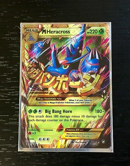 Pokemon M Heracross Ex Ultra Rare Furious Fists 112 111