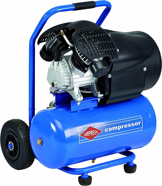 Airpress Druckluft Kolben Kompressor Sackkarre 24l 8 Bar Fahrbar Hl 425 25 Profi Baumarkt