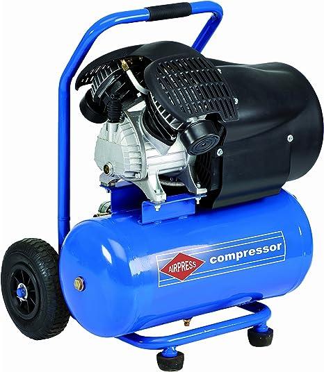 BRSF33 Impresión Aire Pistón Compresor | carretilla 24L, 8 bares, movible | HL 425