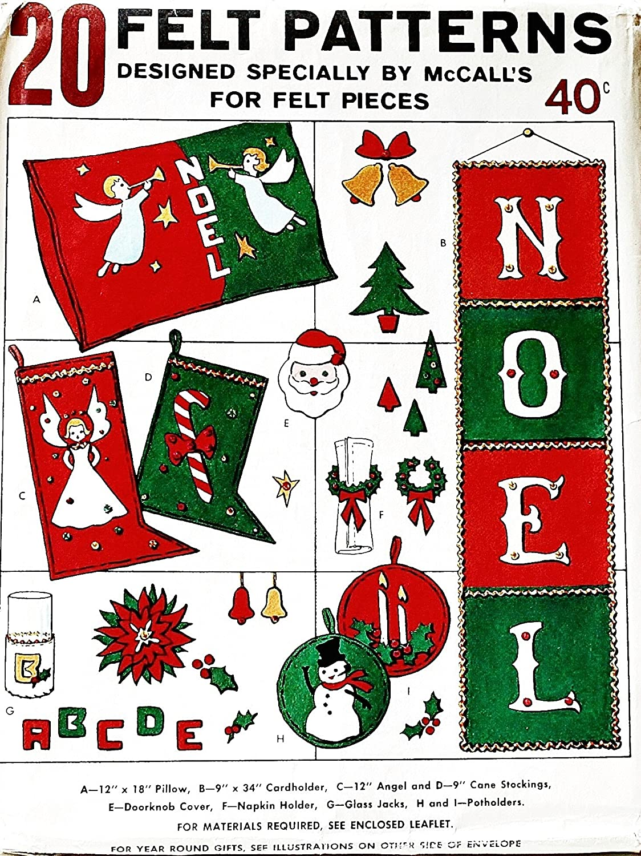 Amazon.com: McCall s Patterns juguetes de Navidad Home ...