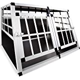 LovPet® Hundebox Transportbox Alubox Hundetransportbox Reisebox Alu Haustiere