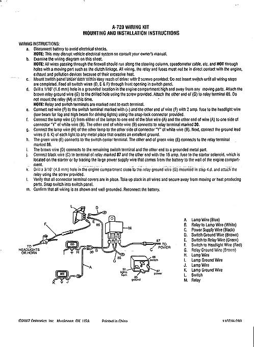 [DIAGRAM_38ZD]  Amazon.com: 100+ Watt Off Road Lamp Wiring Harness with Illuminated Rocker  Switch: Automotive   Optronics 40 Amp 4 Pin Relay Wiring Diagram      Amazon.com