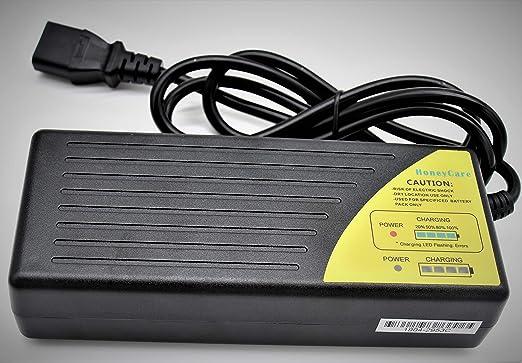 Cargador de bateria 48v,Cargador de Patinete 48v,Cargador de batería de Plomo 48V,Bicicleta eléctrica 48V, Carrito de Golf, Cargador de Scooter ...