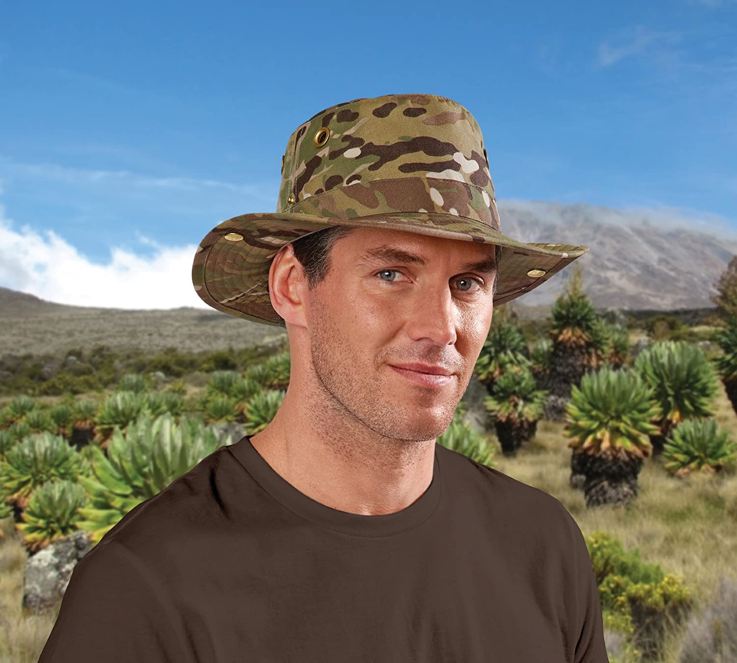 Tilley Men s LT3C Snap-Up Camouflage Hat-7.125-Camo  Amazon.ca  Clothing    Accessories f49a9a36317