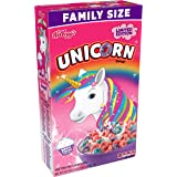 Kelloggs Limited Edition Unicorn Magic Cupcake Cereal, 530g 18.7 oz Family Size by Kellogg's