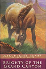 Brighty of the Grand Canyon (Marguerite Henry Horseshoe Library) Paperback