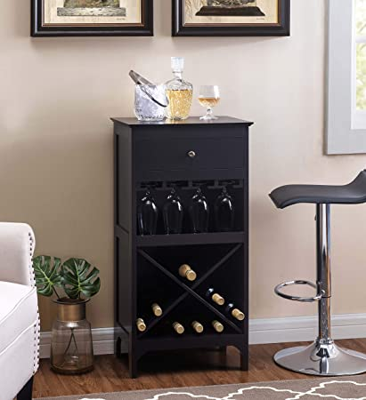 2l Lifestyle Paxton Bar Wine Cabinet Large Espresso