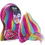 DreamWorks Trolls Trolls World Tour Troll-rific Poppy with Rainbow Hair Wig, Multi-Color, 13.5 Inches