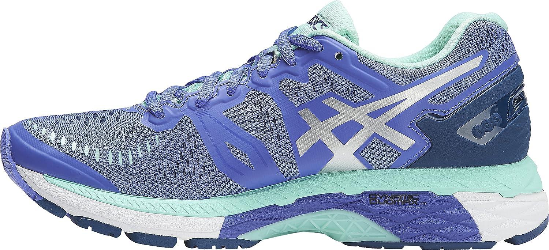 ASICS Women's Gel-Kayano 23 Running Shoe B0785GTL1G 8 B(M) US|Purple/Silver/Mint