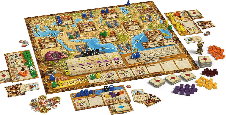 Schmidt Spiele 48280 Marco Polo, ampliación Juego de Estrategia: Amazon.es: Juguetes y juegos