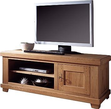 Destock Meubles Tv Bankhifi Lcd Plasma Eiche 1 Tür 2 Nischen