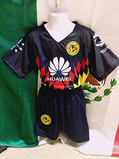 online store 49261 dcb79 Amazon.com : New! Club America Youth Jersey and Shorts Set ...