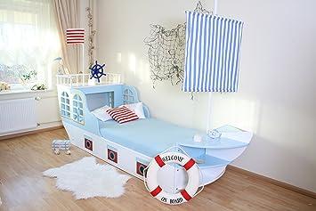 Lit Enfant Bateau Maritim Amazon Fr Bebes Puericulture