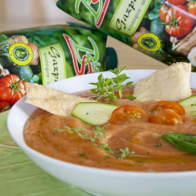 Bio Sabor - Gazpacho with Extra Virgin Olive Oil - 1L: Amazon.es: Alimentación y bebidas