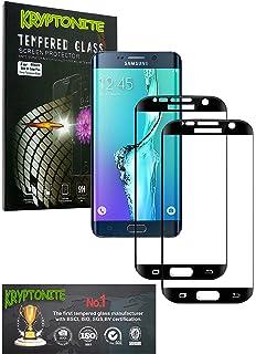 KRYPTONITE Protector de Pantalla de Vidrio para Samsung Galaxy S6 Edge Plus Cubre y Protege la