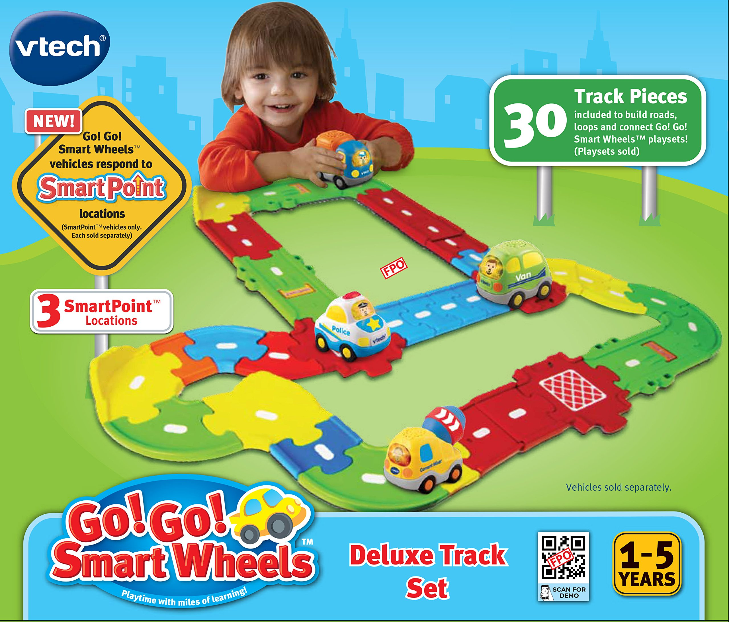 VTech Go! Go! Smart Wheels Deluxe Track Playset by VTech (Image #5)