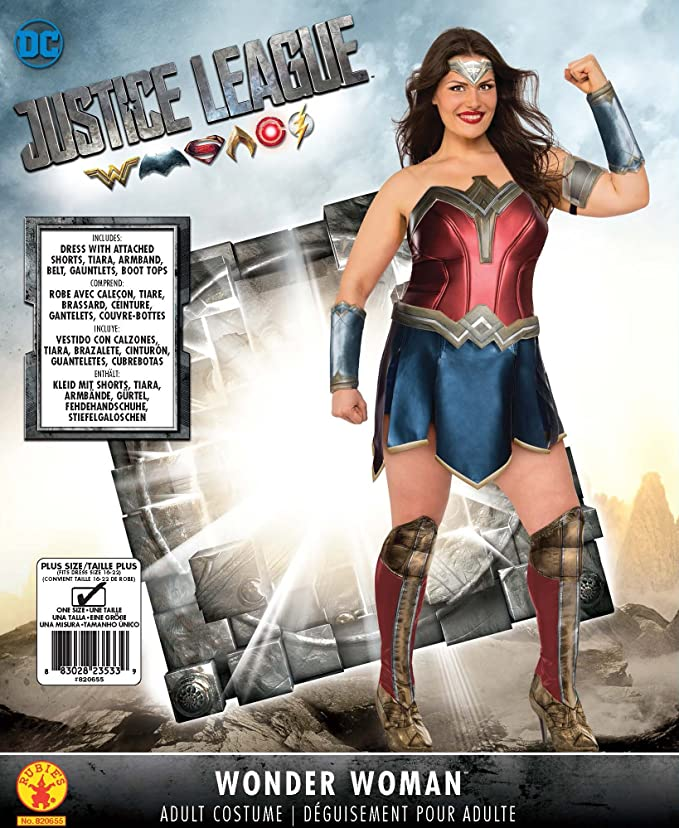 Amazon Rubies Wonder Woman Adult Deluxe Costume Plus Size