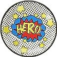Ginger Ray super-héros parti plaques papier - Comic super-héros