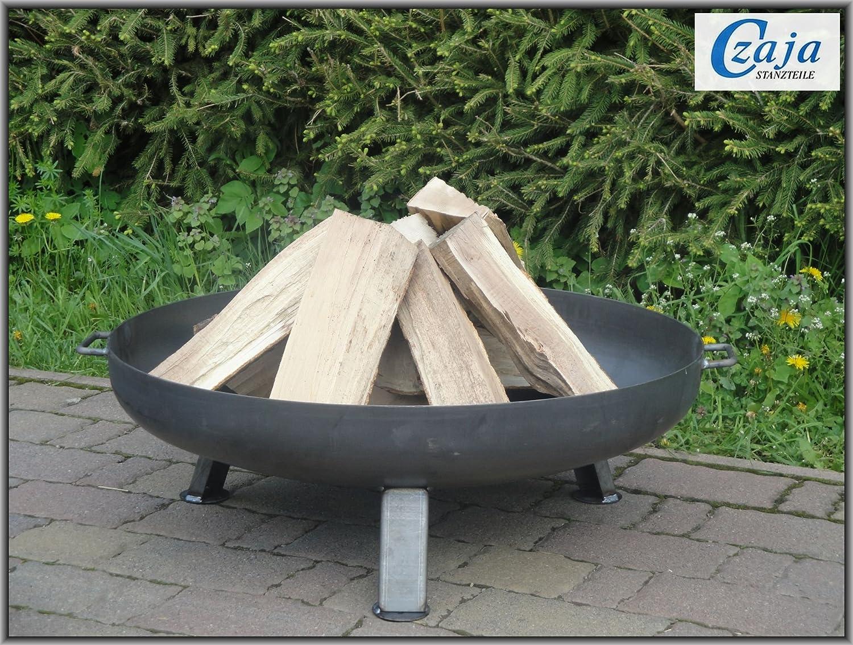 point garden feuerschale 73cm gartengrill grill gu eisen massiv mwd. Black Bedroom Furniture Sets. Home Design Ideas