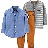 Simple Joys by Carter's 3-Piece Playwear Set - Clothing-Sets Niños