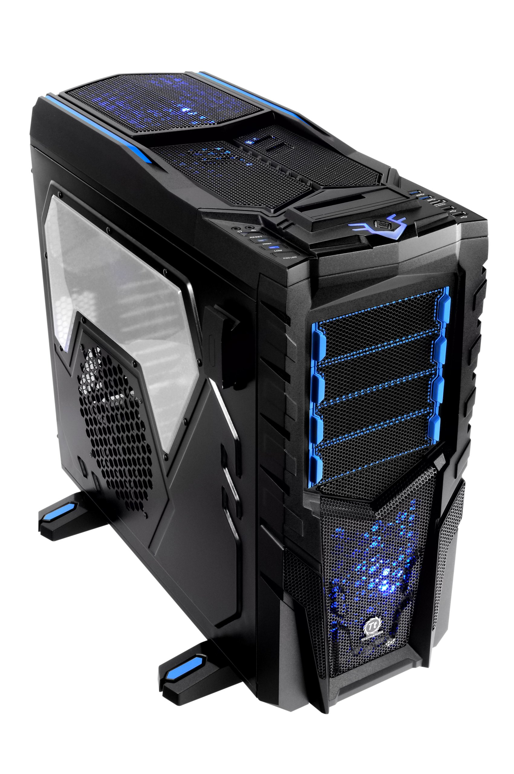 Thermaltake Chaser MK-1 Build-In HDD/SSD Hot Swap Color Shift LED Fan ATX Full Tower Gaming Computer Chasis VN300M1W2N