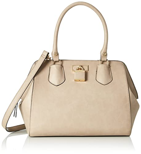 fa12a406c68 Aldo Womens Tagua Satchel Brown (Taupe)  Amazon.co.uk  Shoes   Bags