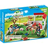 Playmobil - Prado de caballos, superset (61470)