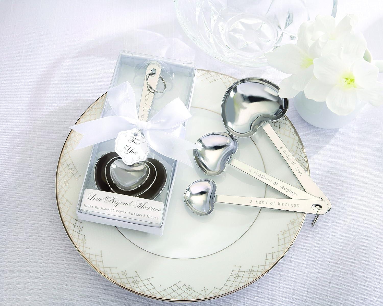 Amazon.com: Kate Aspen Simply Elegant Love Beyond Measure Heart ...