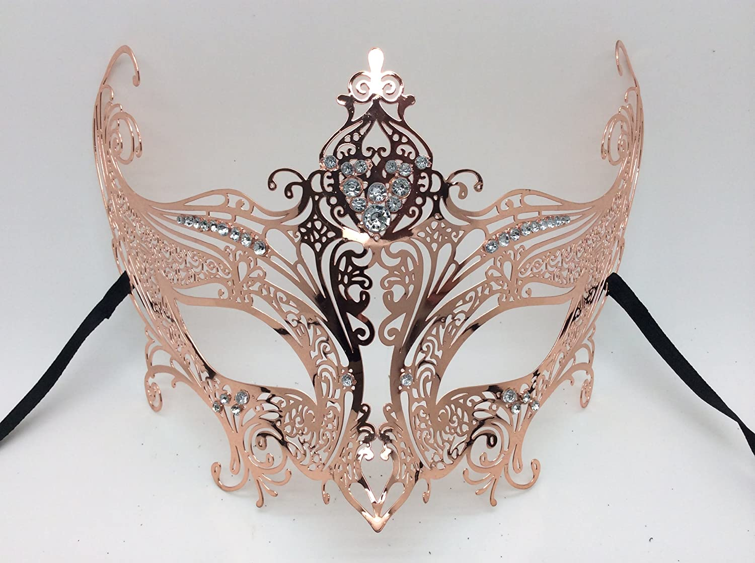 COLOR GLITTER filligree masquerade mask with ties Party Ball FUN XMAS PARTY