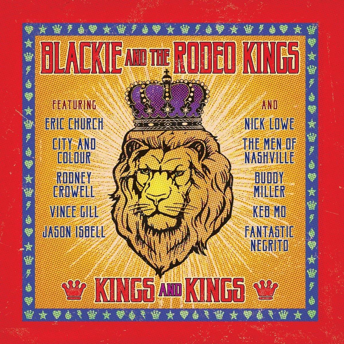 Vinilo : Blackie & Rodeo Kings - Kings & Kings (LP Vinyl)