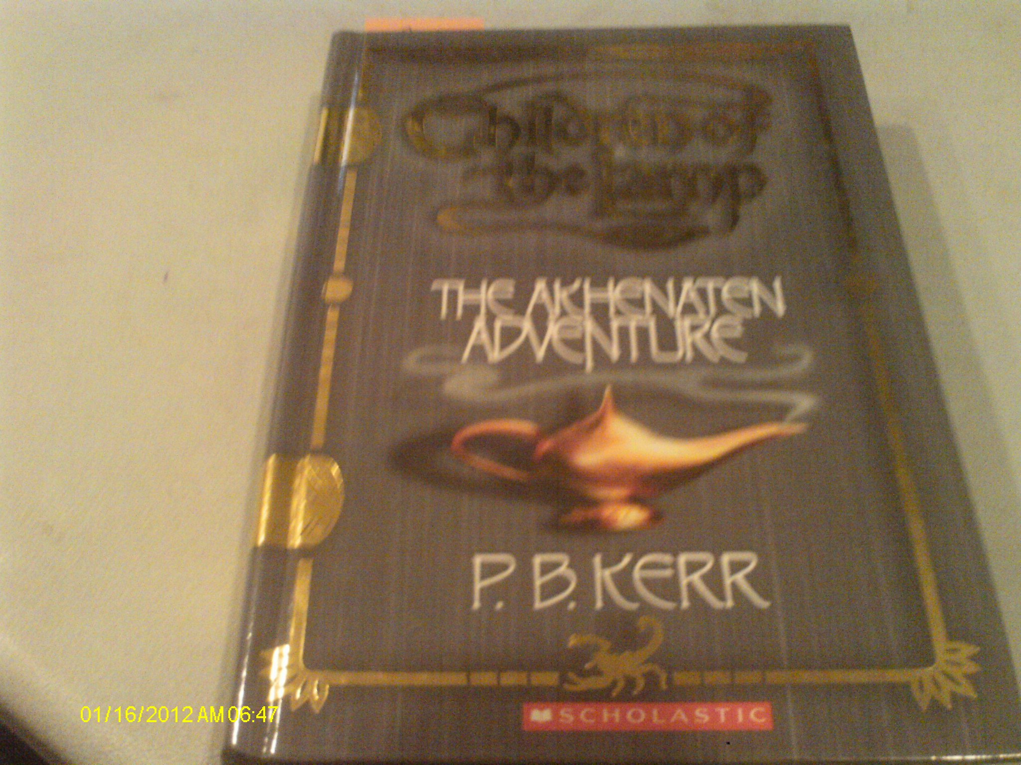Read Online The Akhenaten Adventure (Turtleback School & Library Binding Edition) PDF